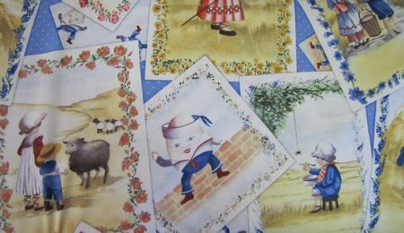 Nursery Rhyme Patch, Humpty Dumpty, Jack & Jill ......