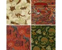Australian Themed Fat Quarters - includes 4 fat quarters - Pack1