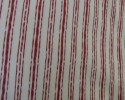 Christmas Red Stripes on Off-White Background